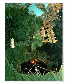 Henri Rousseau - The monkeys