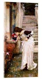 Acrylic print  The Shrine - John William Waterhouse