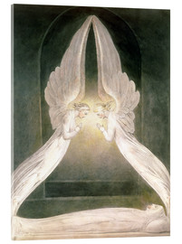 Acrylic print  Christ in the Sepulchre, Guarded by Angels - William Blake