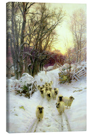 Canvas print  The Sun Had Closed the Winter's Day - Joseph Farquharson
