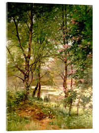 Acrylic print  In the fairytale forest - Ernest Parton