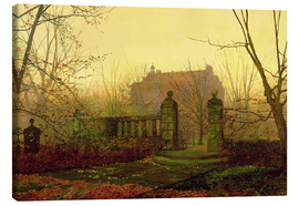 Canvas  Autumn Morning - John Atkinson Grimshaw