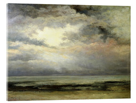 Acrylic glass  The immensity - Gustave Courbet