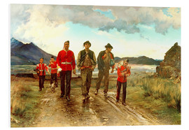 Foam board print  'Listed for the Connaught Rangers': Recruiting in Ireland, 1878 - Lady Butler