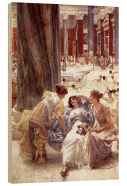 Wood  The Baths of Caracalla - Lawrence Alma-Tadema