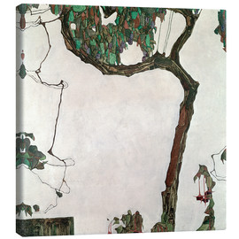 Canvas  Autumn tree - Egon Schiele