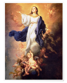 Premium poster The Assumption of the Virgin