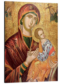 Aluminium print  Mother and goddess of passion, Greek icon from Crete