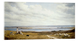 Acrylic print  Portsmouth Harbour from Portsdown Hill - Joseph Mallord William Turner