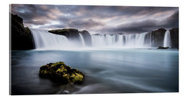 Acrylic print  Godafoss Waterfall in Iceland - Andreas Wonisch
