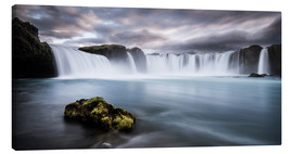 Canvas print  Godafoss Waterfall in Iceland - Andreas Wonisch