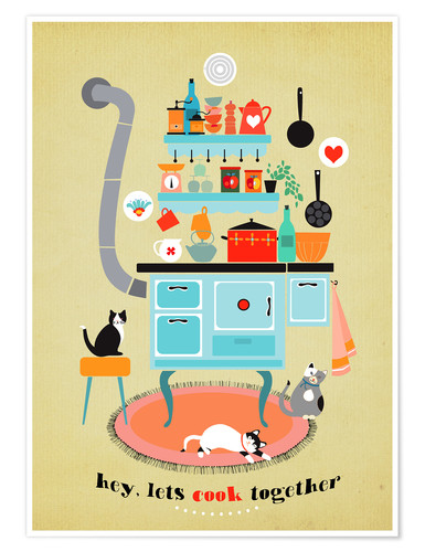 Poster lets cook together