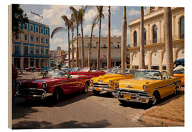 Wood print  havanna - Peter Schickert