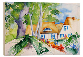 Brigitte Dürr - Farmhouses on the Baltic Sea