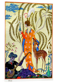Acrylic print  The art of perfume, 1912 - Georges Barbier