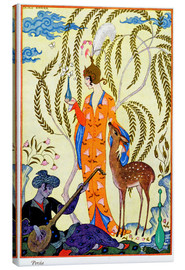 Canvas print  The art of perfume, 1912 - Georges Barbier