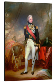 Aluminium print  Horatio Viscount Nelson 1801 - Sir William Beechey