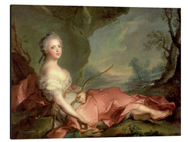 Jean-Marc Nattier - Maria Adelaide of France as Diana