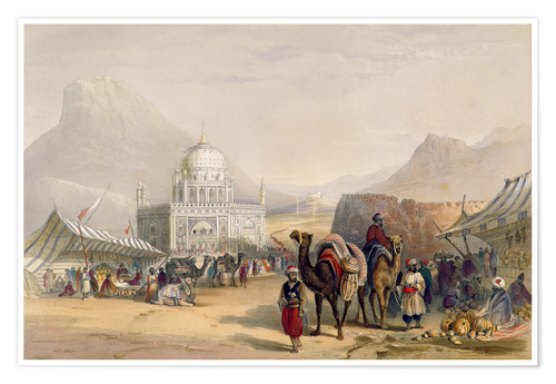 Premium poster Temple of 'Ahmed Shauh', King of Afghanistan, Kandahar