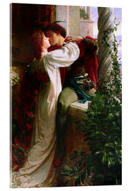 Acrylic print  Romeo and Juliet, 1884 - Sir Frank Dicksee