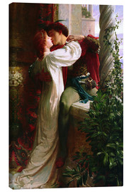 Canvas print  Romeo and Juliet, 1884 - Sir Frank Dicksee