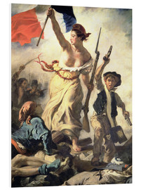 Forex  Liberty Leading the People, detail - Eugene Delacroix