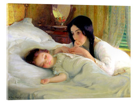 Acrylic print  The Eleventh Hour, the Eleventh Day of the Eleventh Month - W. Percy Day