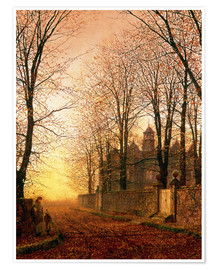 Premium poster  In the Golden Olden Time, c.1870 - John Atkinson Grimshaw