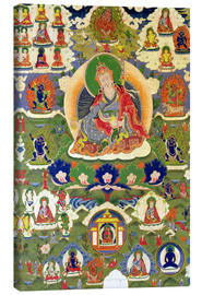 Canvas print  Thangka of Padmasambhava - Tibetan School