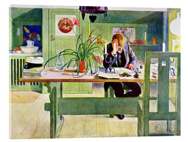 Acrylic print  The Study Room - Carl Larsson