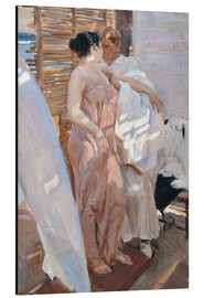 Alu-Dibond  After the Bath - Joaquin Sorolla y Bastida