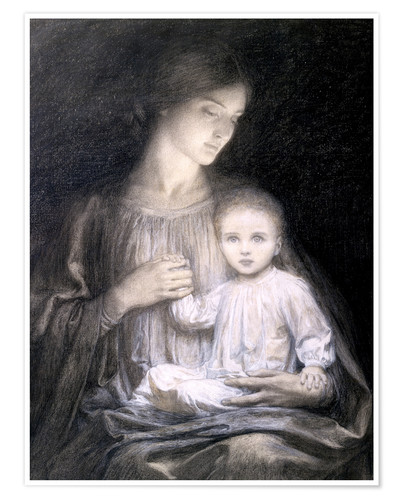 Premium poster Mother and Child, c.1920