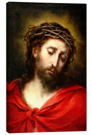 Canvas  Ecce Homo, or Suffering Christ - Bartolome Esteban Murillo