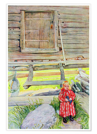 Premium poster  The Old Lodge - Carl Larsson