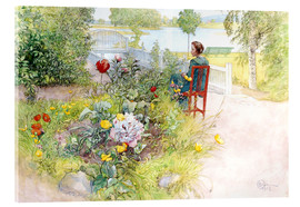 Acrylic glass  Summer in Sundborn - Carl Larsson