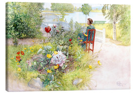 Canvas print  Summer in Sundborn - Carl Larsson