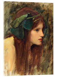 Acrylic print  A Study for a Naiad - John William Waterhouse