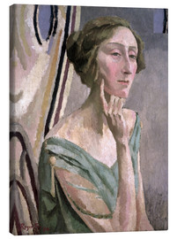 Canvas print  Portrait of Edith Sitwell , 1915 - Roger Fry