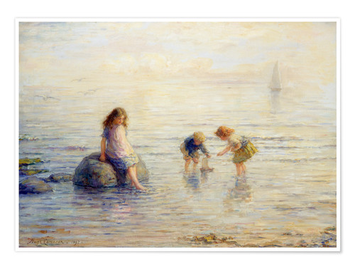 Premium poster Sailing the Toy Boat, 1897