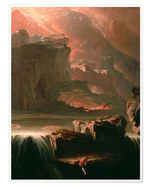 Premium poster Sadak in search of the waters of oblivion, 1812