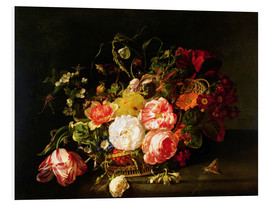 Forex  Flowers and Insects - Rachel Ruysch