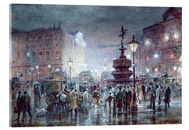 Acrylic glass  Piccadilly Circus at Night, 1911 - Thomas Prytherch