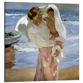 Aluminium print  Just out of the sea - Joaquin Sorolla y Bastida