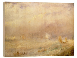 Wood print  View of Deal - Joseph Mallord William Turner