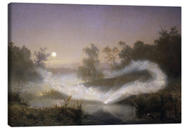 Canvas print  Dancing fairies - August Malmström