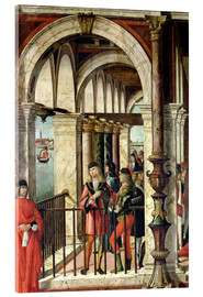 Acrylic print  The arrival of the English ambassadors - Vittore Carpaccio