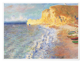 Premium poster  Morning at Etretat - Claude Monet