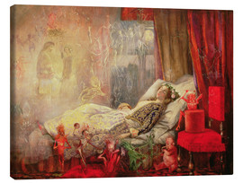 Canvas print  The Stuff that Dreams are Made Of - John Anster Fitzgerald
