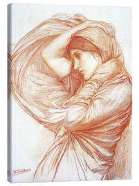 Canvas print  Study for Boreas - John William Waterhouse