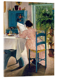 Acrylic print  At breakfast - Laurits Andersen Ring